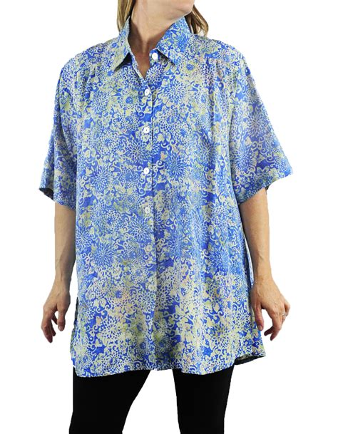Flower Tunic tea flower new tunic top