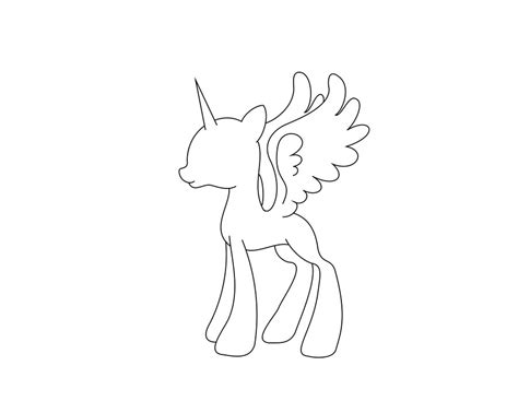 mlp filly template www imgkid com the image kid has it