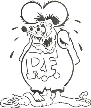 rat fink airbrush tattoos island tribal designs