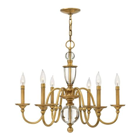 Hinkley Chandelier Hinkley Lighting 4956 Eleanor 6 Light Chandelier Atg Stores