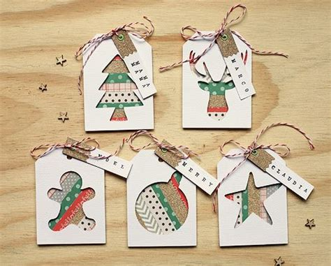 Handcrafted Gift Tags - 1000 ideas about handmade gift tags on gift
