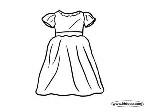 dress coloring pages dress coloring page