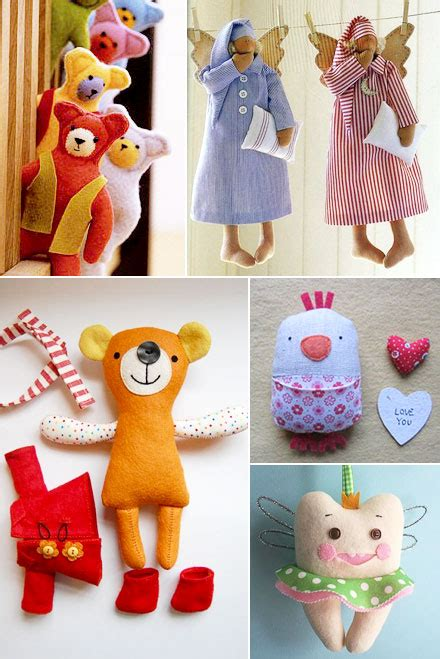 Handmade Toys Patterns - mollymoocrafts handmade soft toys