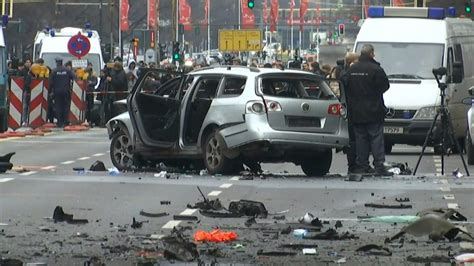 car bomb explodes in berlin killing driver itv news