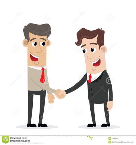 cartoon handshake clipart collection