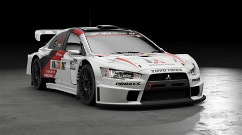 mitsubishi rally car ps4 exclusive gran turismo sport gets more beautiful
