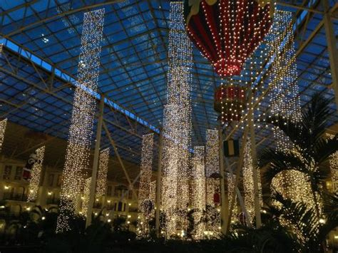 indoor christmas lights at night picture of gaylord