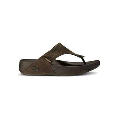 Fitflop Trakk fitflops trakk mens fitflop sandals in chocolate from mozimo