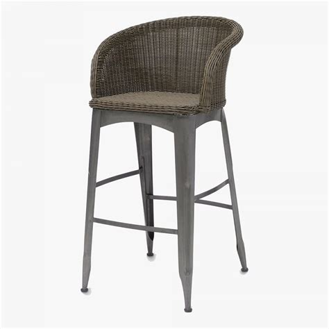 bar stool outdoor navy outdoor bar stool shop palecek bar stools dear keaton