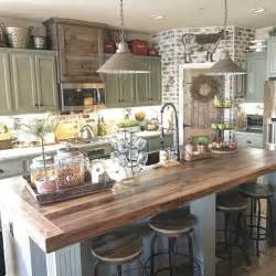 Farmhouse Kitchen Ideas by 55 Rustic Farmhouse Kitchen Decoration Ideas Coo
