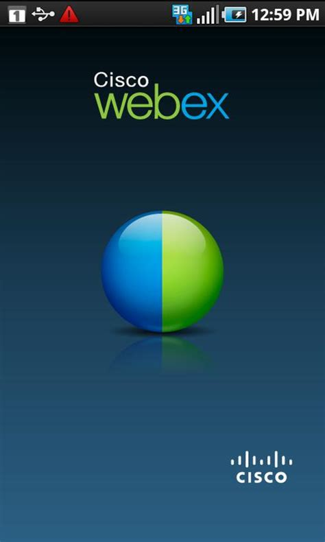 webex android cisco releases the official webex meetings app features aplenty
