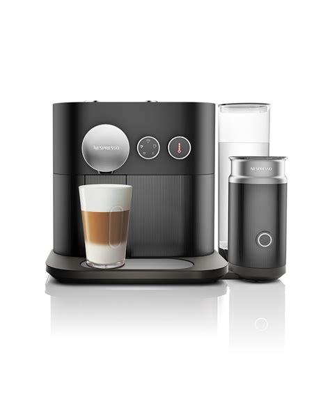nespresso milk nespresso expert milk black coffee machine for the
