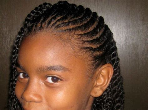 Easy Braided Hairstyles For Little Black Girls   HAIRSTYLE
