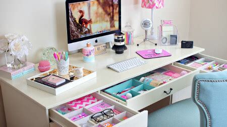 Get Organized Back To School Desk Essentials Advice Diy Back To School Desk Organization
