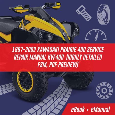 Kawasaki Kvf Prairie 400 Workshop Service Repair Manual