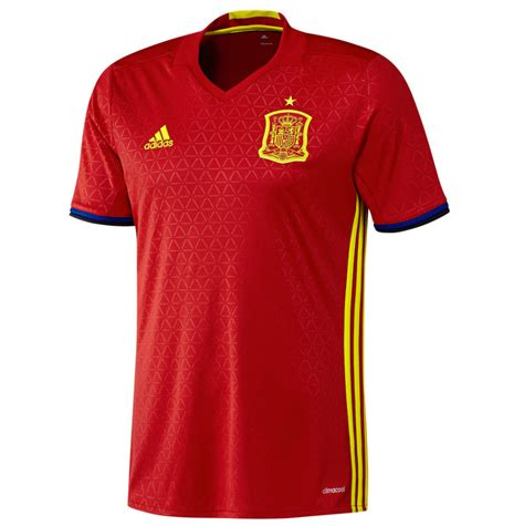 2016 2017 spain home adidas football shirt ai4411 163 54
