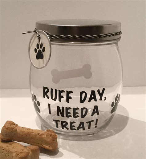 treat container personalized treat jar treat container biscuit jar