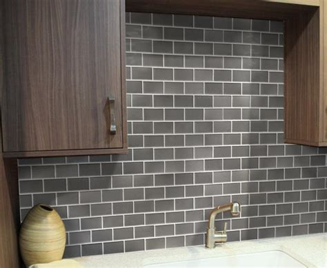 peel and stick tiles for kitchen backsplash quality peel and stick glass tile backsplash self adhesive