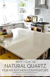 Kitchen Quartz Countertops kitchen renovation choosing a quartz countertop jenna