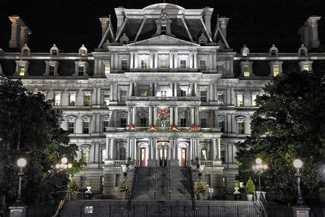 Eisenhower Executive Office Building by Eisenhower Executive Office Building Photograph By Mitch Cat