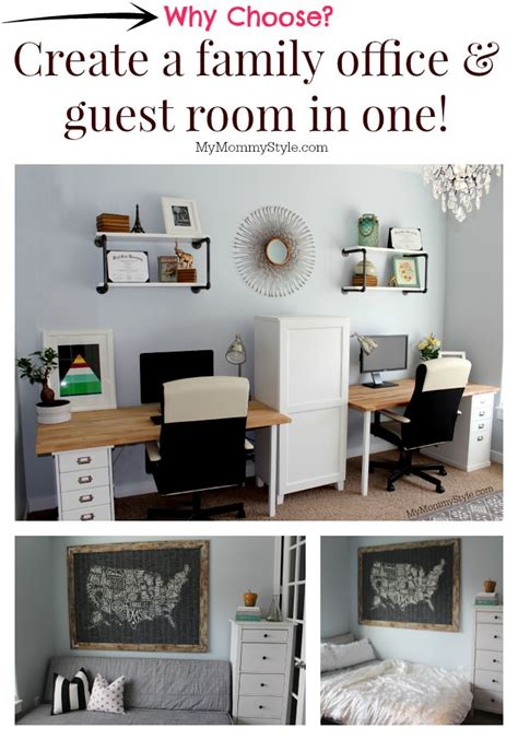 office in bedroom ideas a family office and guest room in one my style