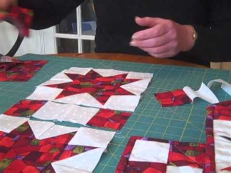 star quilt pattern youtube christmas quilting pattern star table runner video youtube