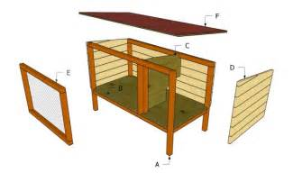 plans to build a rabbit hutch for outside 10 free rabbit hutch building plans and designs the self