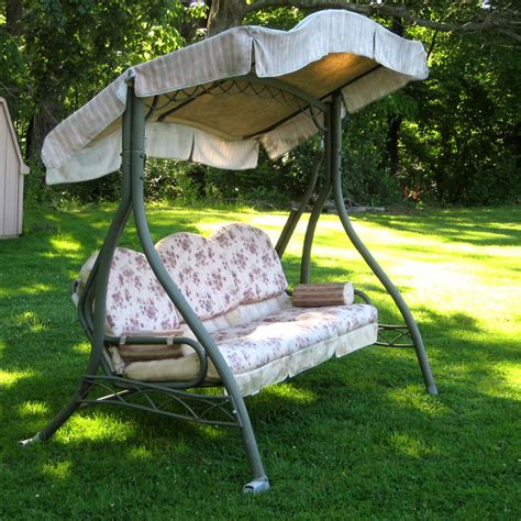 walmart patio swing home trends swing walmart replacement canopy garden winds