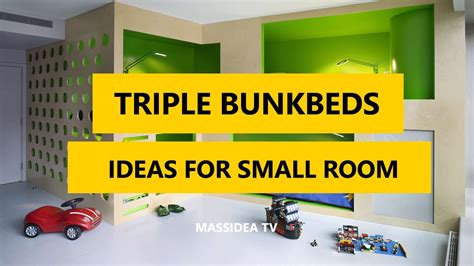 triple bunk beds designs ideas  small room