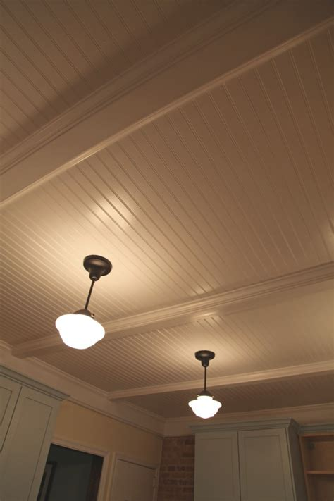 Beadboard Popcorn Ceiling by Beadboard Ceiling And Walls Reno Ideas