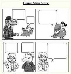 comic templates sle comic 6 documents in pdf