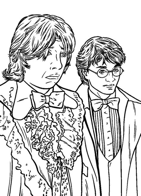 279 best Harry Potter Coloring Pages images on Pinterest
