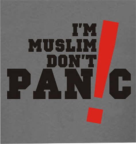 Kaos I M Muslim I M A Muslim Islam Ordinal Apparel rxnv i m muslim don t panic