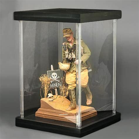 7 figure display monkey depot acu figure display