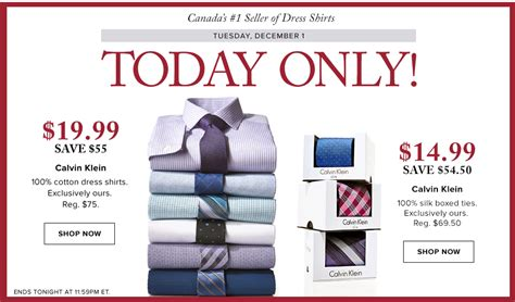 Hudson S Bay Canada Offers - hudson s bay canada today s deals save 73 on calvin