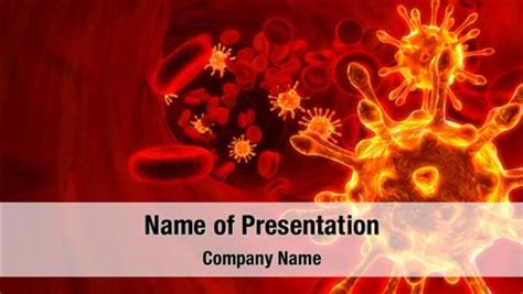 templates powerpoint blood virus in blood powerpoint templates virus in blood