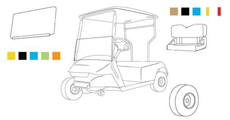 create your own blueprint custom golf cart build your golf cart software
