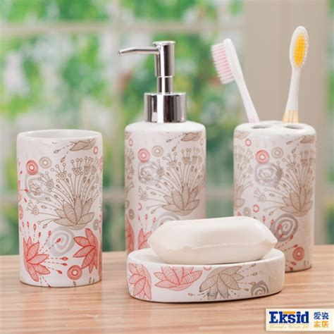 Soap Holders For Bathrooms India by Aliexpress Buy 4pcs Bathroom Set Bathroom Ceramic