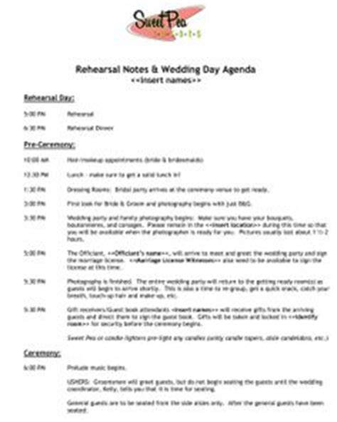 wedding timelines on pinterest wedding schedule wedding