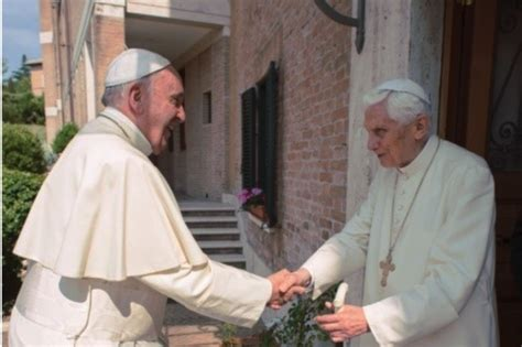 santa sede benedetto xvi el papa francisco escribe sobre el papa benedicto xvi