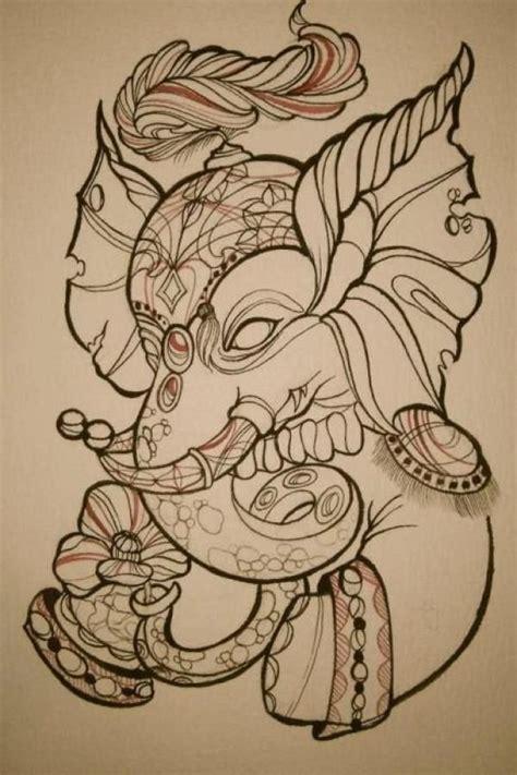 1000 ideias sobre tatuagens de elefante indiano no