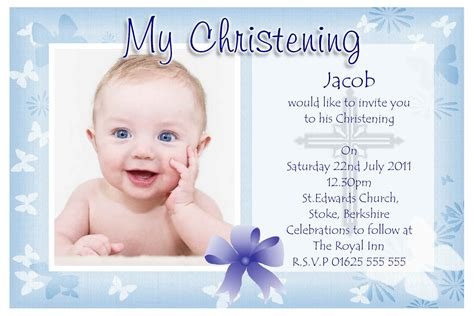 Baptism Invitations by Baptism Invitation Baptism Invitations For Boys New