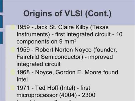 a complex integrated circuit consisting of millions of electronic parts is called vlsi