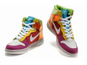 colorful nike nike sb dunk shoes high top colorful nike shoes