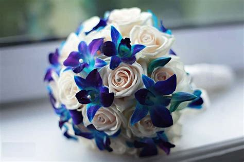 Blue Flowers For Wedding by Blue Wedding Flowers Bouquet Mulesoft