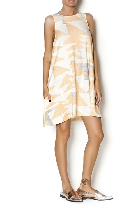 mara hoffman swing dress mara hoffman peach swing dress from chicago by moon voyage