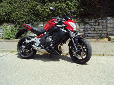 Kawasaki Er6n Motorrad Online by Kawasaki Er6n Spiegel Motorrad Bild Idee