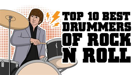 7 Best About Rock by Top 10 Best Drummers Of Rock N Roll Page 7 Of 10 I