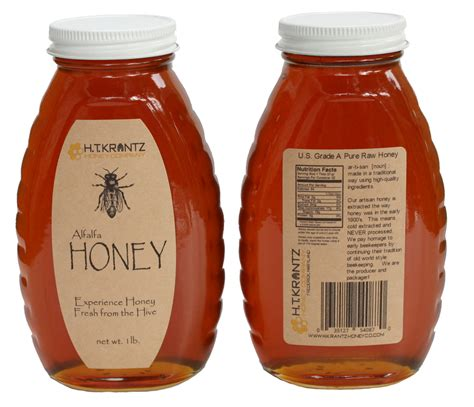 Queenline Classic Honey Jar Customer Ideas Onlinelabels Com Honey Jar Labels Template