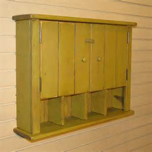 Rustic primitive cottage wall cabinet color by willowislandprim